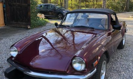Disputed Data:  1979 Triumph Spitfire 1500 – Sold!