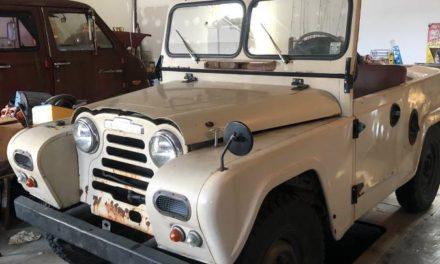 Austin Powerless: 1962 Austin Gipsy 4×4 – NOW $7,500