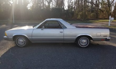 Silver Sleeper:  1980 Chevrolet El Camino – Sold!