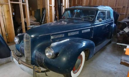 Companion Marque:  1940 Cadillac LaSalle Model 50 Four-Door Convertible Project – Sold!