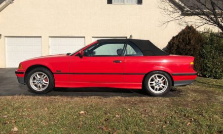 Hellrot Heaven:  1995 BMW E36 325i 5-Speed 79K Mile Survivor – $4,800