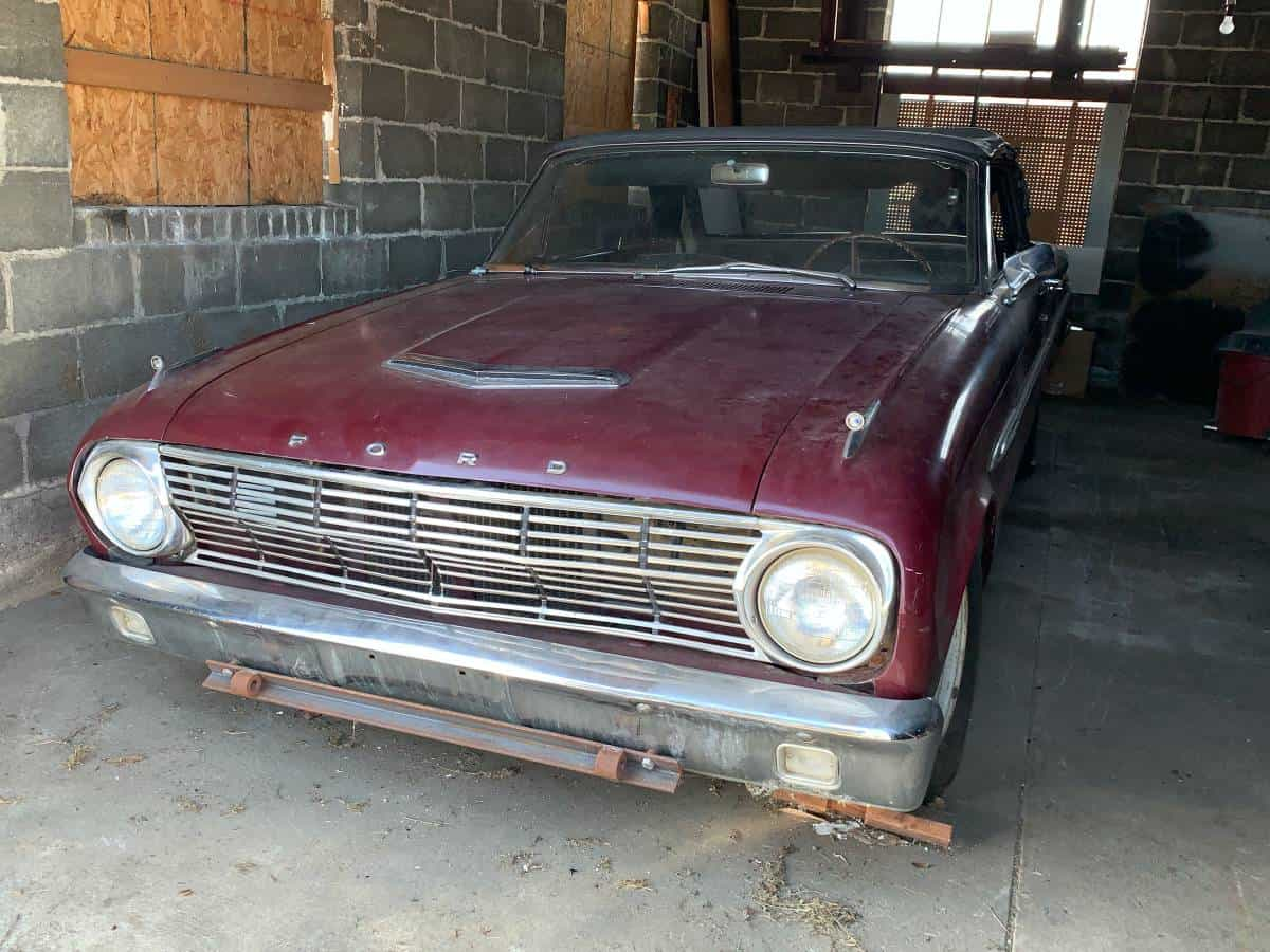 Be Very Afraid: 1963 Ford Falcon Sprint Convertible ...