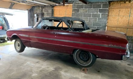 Be Very Afraid:  1963 Ford Falcon Sprint Convertible Project – Sold?