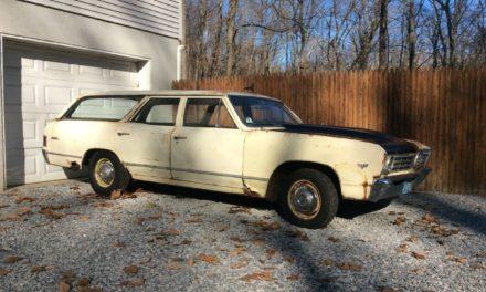 Hey Butternut:  1967 Chevrolet Chevelle Malibu Wagon Project –  Sold!