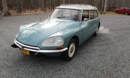 Flying Saucer:  1971 Citroen DS20 Station Wagon – Sold!