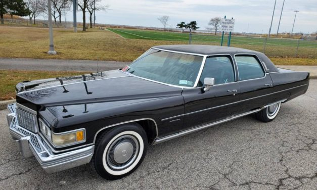 Dad's Land Yacht: 1976 Cadillac Fleetwood Brougham- NOW $8,000