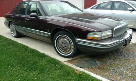 Supercharged Slicktop:  1994 Buick Park Avenue Ultra – Sold!