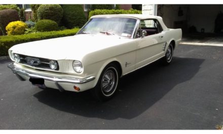 White Pony:  1966 Ford Mustang Convertible – SOLD!