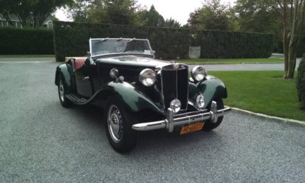 Motivated Seller: 1953 MG TD – SOLD!