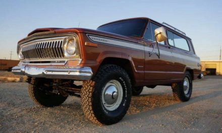 First SUV:  1974 Jeep Cherokee Two Door – Sold!