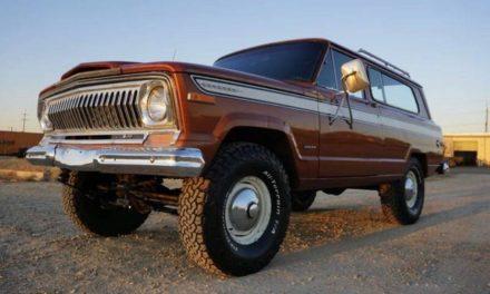First SUV:  1974 Jeep Cherokee Two Door – $18,500