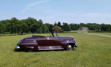 NEW! Award 30: 1942 Plymouth Special Deluxe Convertible P14C – Sold!
