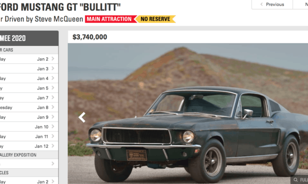 Market Manipulation:  Why Including Fees Is Bad For the Collector Car Hobby