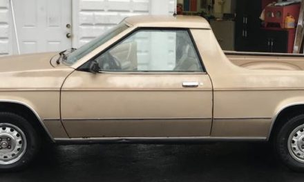 K-Car Ute:  1983 Dodge Rampage – Sold!