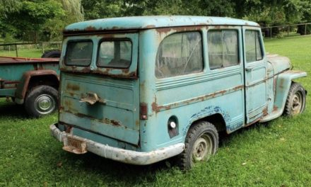 Short Straw:  1959 Willys 4×4 Station Wagon Project – $2,000
