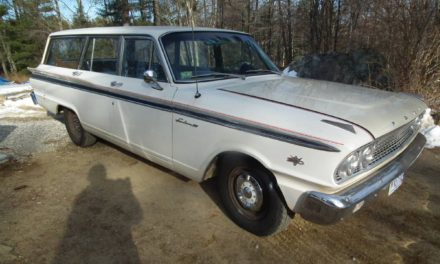 LS Antidote:  1963 Ford Fairlane 500 Station Wagon Restomod – Sold!