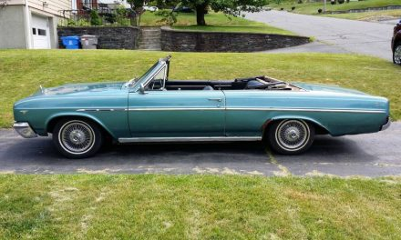 Baby Not On Board:  1965 Buick Skylark Convertible – Sold!