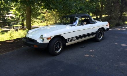 Still Out of Space:  1980 MG MGB Mk IV – Price Increased to $6,500