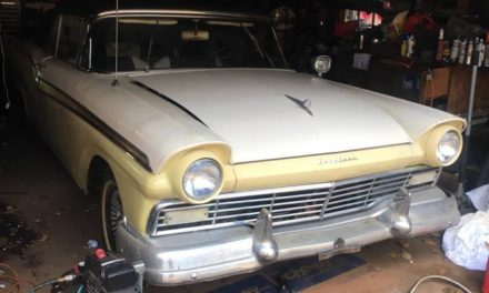 Garage Find:  1957 Ford Fairlane 500 Sunliner Convertible – SOLD!