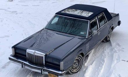 Wedding Car:  1983 Lincoln Continental Mark VI Pucci Edition – Sold!