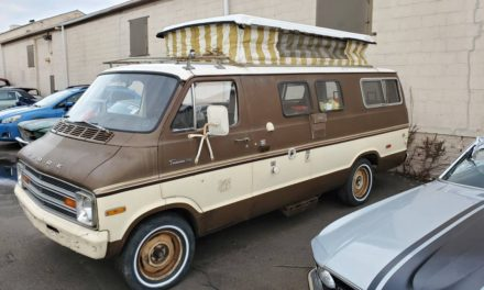 Turtle Top:  1972 Dodge Tradesman 200 Camper Van Project – Sold!