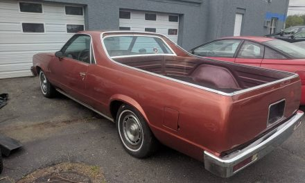 Good Bones:  1981 Chevrolet El Camino Project – Sold!
