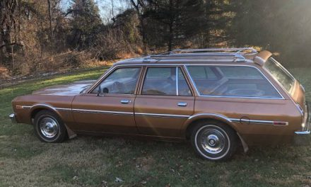 Stored 32 Years:  1977 Dodge Aspen Station Wagon – Sold!