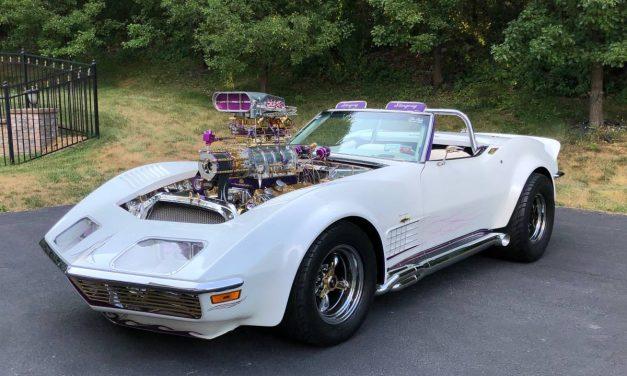 NEW! Award 34:  1972 Chevrolet Corvette Convertible Street Machine – NOW $99,975
