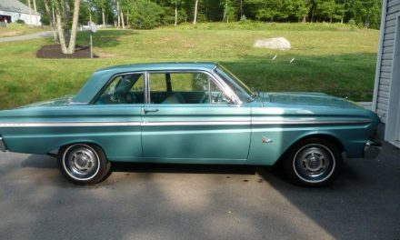 Junk In The Trunk:  1965 Ford Falcon Sedan Deluxe – Sold!