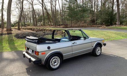 1985 Volkswagen Cabriolet Wolfsburg Edition – SOLD!