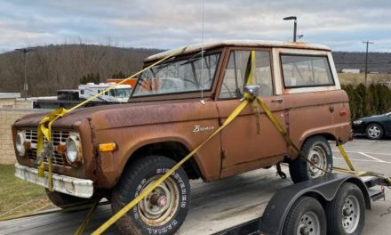 Theseus' Paradox:  1973 Ford Bronco Wagon Project – Sold!