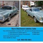 Zirconia Encrusted: 1978 Lincoln Continental Mark V Diamond Jubilee Edition – $18,000