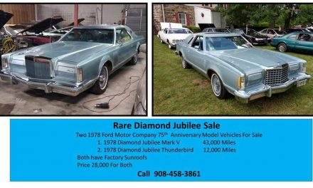 Original Tires:  1978 Ford Thunderbird Diamond Jubilee Edition – SOLD!