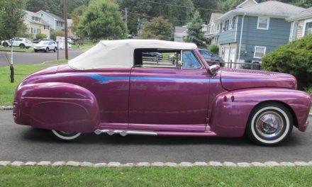 Oh Canada:  1946 Mercury Ford Canadian Custom Convertible – $39,500