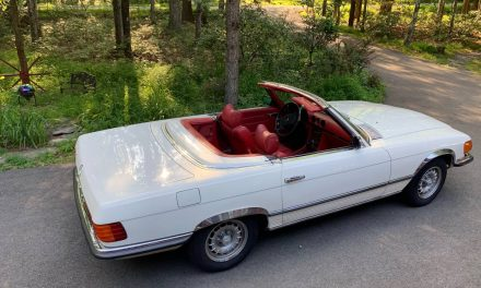 Really a 450: 1972 Mercedes-Benz R107 350SL – NOW $8,500