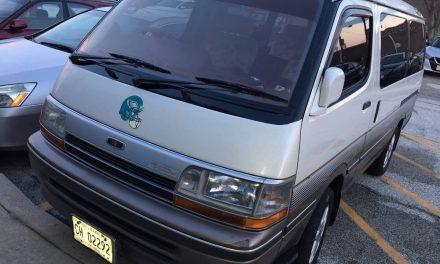 Velour & Lace:  1990 Toyota HiAce Super Custom Limited JDM RHD – Sold!