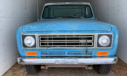Rattle & Clang: 1977 International Harvester Scout II Terra 4×4 Diesel Pickup – Sold!