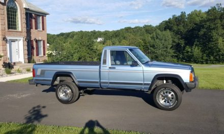 Preserved Pioneer: 1989 Jeep MJ Comanche Long Bed 4×4 – $7,900
