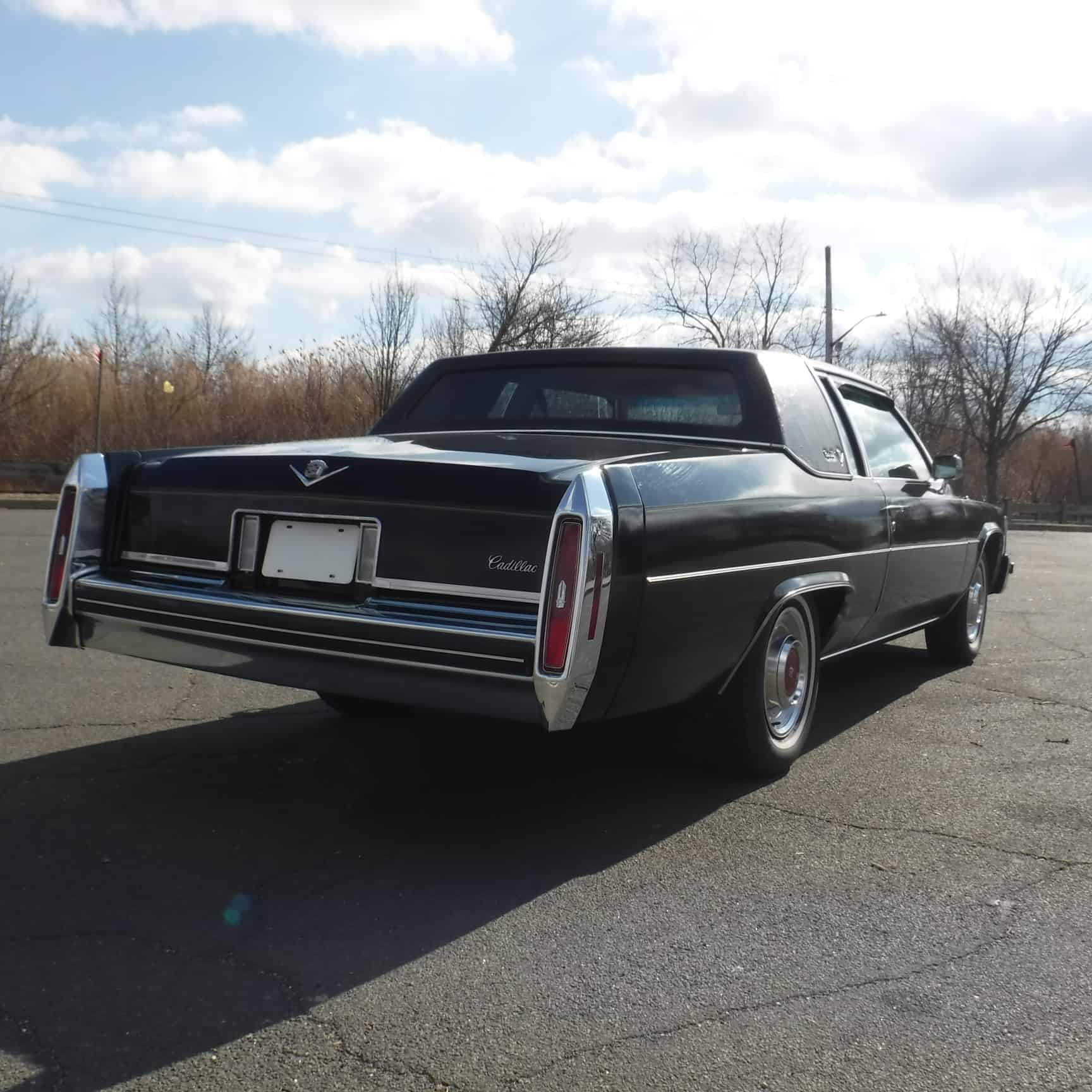 Reserved Parking 11: 1980 Cadillac Coupe DeVille 21K Mile