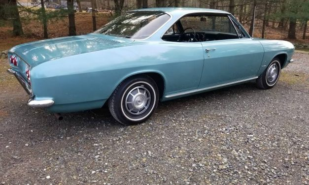 Price Negotiable:  1966 Chevrolet Corvair Monza Sport Coupe – $8,500