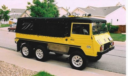 Yellow Horse: 1974 Pinzgauer 712M Project – SOLD!