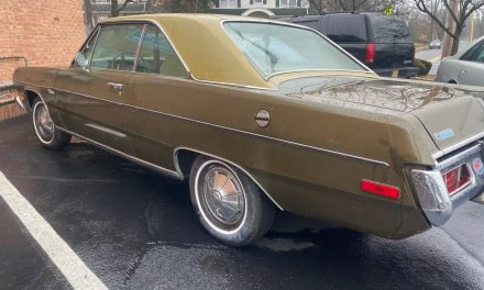 Grandparent's Car: 1972 Plymouth Valiant Scamp 33K Mile Survivor – Sold!