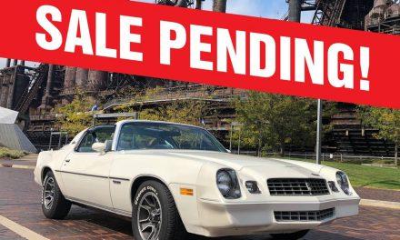 Six Months Gone: 1979 Chevrolet Camaro Berlinetta – SOLD!