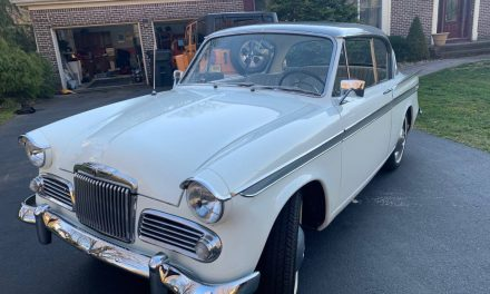 British Rarity:  1960 Sunbeam Rapier Series III – Sold!