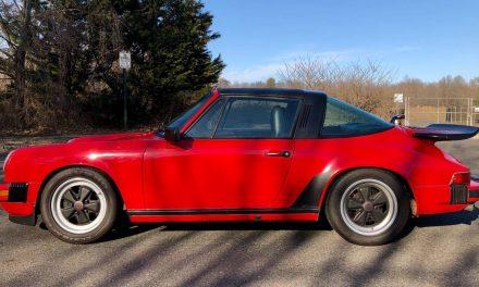 Guards Red Classic:  1985 Porsche 911 Carrera Targa – Sold!