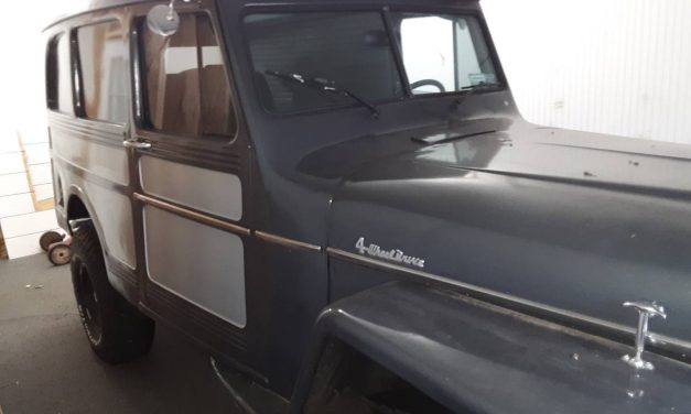 Chevy Not Ford:  1960 Willys 4×4 Utility Wagon Mild Custom – $16,500