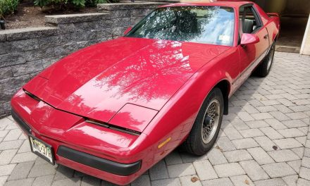 Unused Gift:  1984 Pontiac Firebird – Sold!
