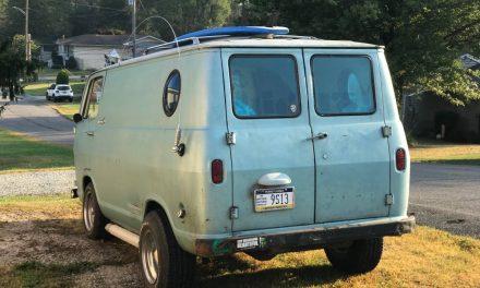Shag Wagon:  1965 Chevrolet G10 Panel Van – Sold!