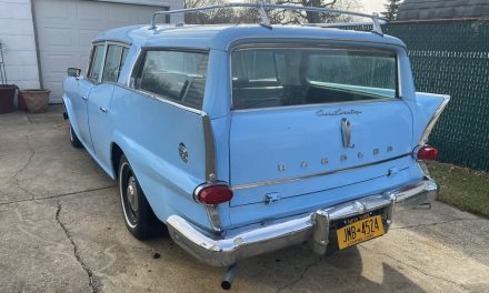 Well Equipped:  1959 AMC Rambler Rebel Wagon V8 – Sold!