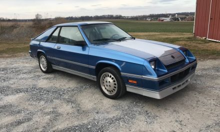 Six Months Gone: 1984 Dodge Shelby Charger – Sold?
